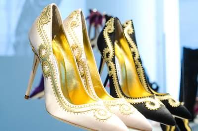 Manolo Blahnik 2015: Bridal shoes you'll treasure forever