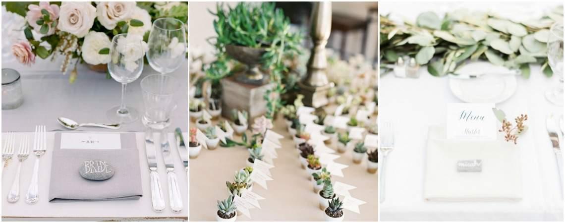 Cómo indicar a los invitados dónde sentarse: 30 propuestas originales para tu boda