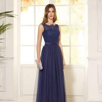 ¡Hermosas propuestas para lucir elegante! Vestidos de fiesta azules largos 2017