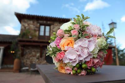 Una boda muy romántica y cerca de Madrid en Peñarrubia de Araceli