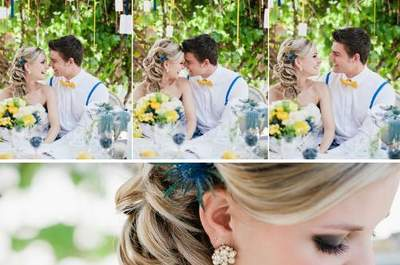 Blue & Yellow Wedding Inspiration