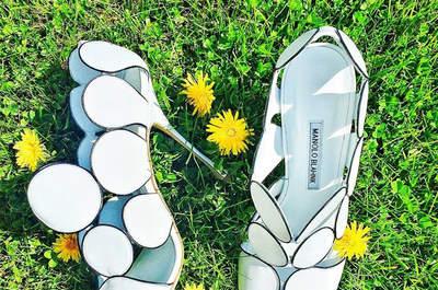 Manolo Blahnik 2016: zapatos de novia con mucho estilo y glamour