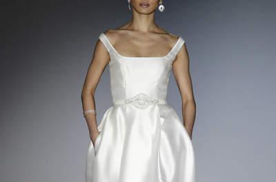 Suknie ślubne Cabotine 2016: romantyczne i uwodzicielskie!