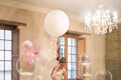 Decora tu boda con bombas: Ideas sorprendentes que te encantarán