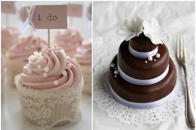 Tortas y cupcakes. ¡Endulza tu matrimonio!