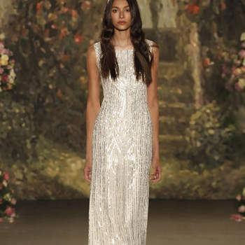 Bedazzled Wedding Dresses: Rhinestones, Metallic Details, and Crystal Embellishments 2016