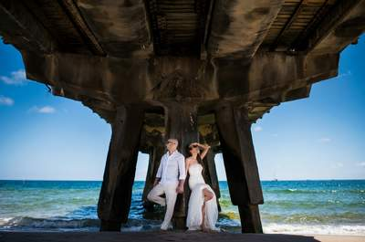 Casarse en Paracas: ¿te imaginaste un matrimonio ante el desierto y frente al mar?