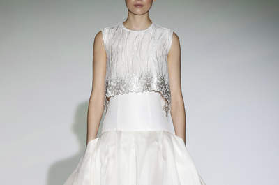 Vestidos de novia Isabel Zapardiez 2016: elegancia y buen gusto