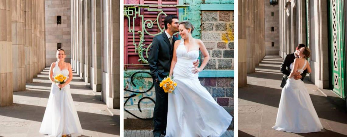 Animate a hacer un Trash the Dress después de tu boda