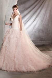 Vestidos de novia de color 2017