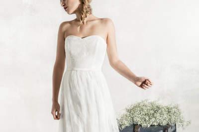 Entdecken Sie herrliche Brautkleider im Vintage-Stil 2017! Leben Sie das Wesen der Romantik