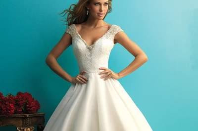 50 vestidos de noiva para mulheres magras 2016: acrescentem volume ao seu visual!