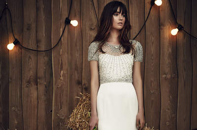Vestidos de novia Jenny Packham 2017: Sofisticación y glamour en tu gran día