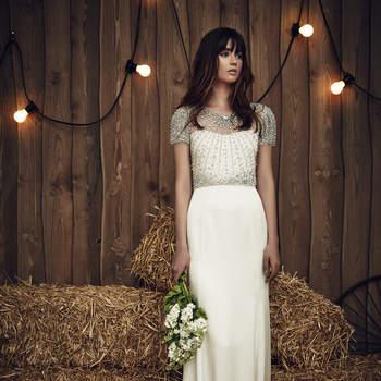 Suknie ślubne Jenny Packham 2017: stylowe i wyrafinowanie!