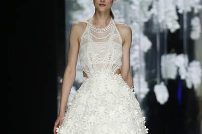 Robes de mariée courtes 2016 : montrez vos gambettes le jour J !