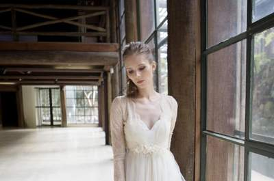77 Vestidos de noiva vintage 2017: puro romantismo!
