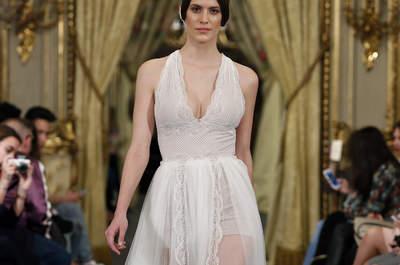 22 robes de mariée décolleté halter 2017 pour une touche sensuelle et glamour