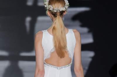 Peinados de novia con cola 2017. ¡Los querrás lucir todos!