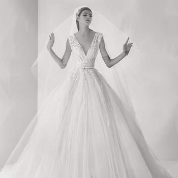 Vestidos de noiva Elie Saab Outono 2017: looks de alta costura