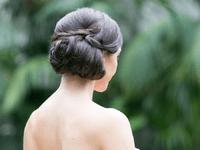 Recogidos medios para novias 2015: el peinado ideal