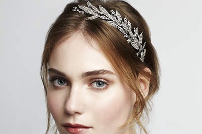 Luxury Bridal Hair Accessories by Jennifer Behr 2015