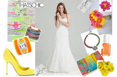 Elige tu look de novia según la estación del año