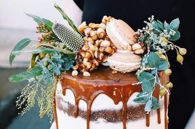 Drip Cake: è questa la torta nuziale che farà furore nel 2017!