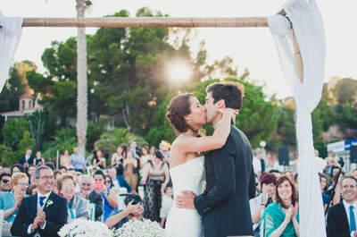 50 besos que el fotógrafo de tu boda debe capturar en el gran día