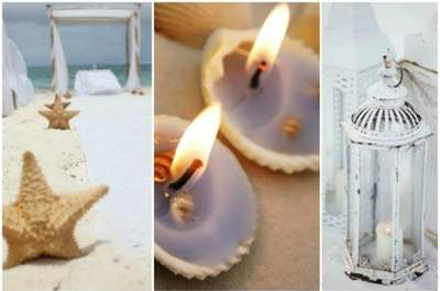 Atrévete con la decoración marina para tu matrimonio, ¡todo un acierto!