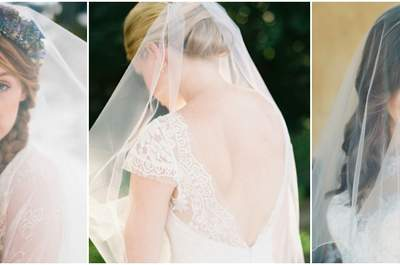 Lassen Sie sich von diesen Brautfrisuren mit Schleier 2017 inspirieren! Pure Romantik mit einem Hauch von Nichts