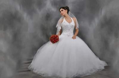 Vestidos de novia con escote en V 2017. ¡Elige el diseño más sofisticado!