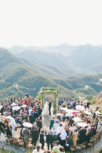 Far Above the Clouds: Wedding in Malibu