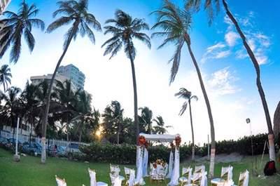 Lindas inspirações para um casamento na praia