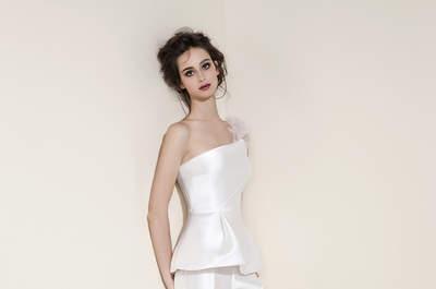 Vestidos de novia para una boda civil 2016: diferentes estilos para todos los gustos