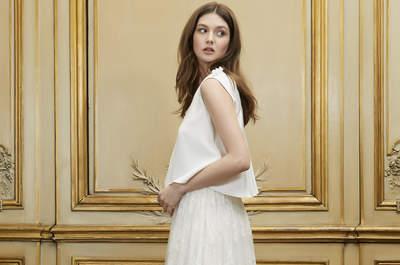 Les plus belles robes de mariée pour femmes enceintes 2015