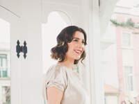 Peinados 2016 para novias con pelo corto