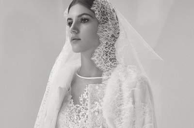 Vestidos de novia Elie Saab Otoño 2017: un look de alta costura