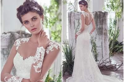 Glamour e lusso nei migliori abiti da sposa della stagione Autunno 2016 di Maggie Sottero. Prendete nota!