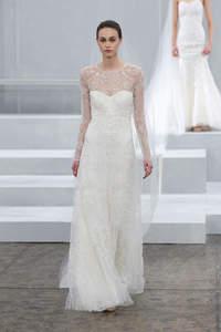 Vestidos de novia 2015 perfectos para las más delgadas