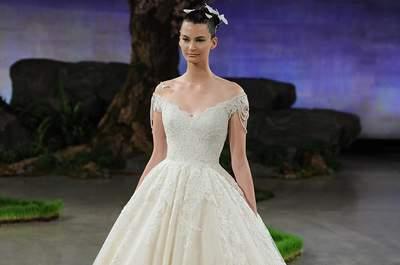 Ines Di Santo 2016: Vestidos de novia con detalles de lujo y mariposas