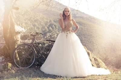 Descubra 50 dos vestidos de noiva mais espectaculares para 2015
