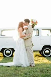 Lustige Ideen für die Dekoration des Hochzeitsautos