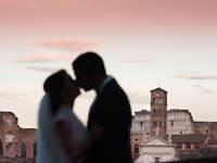 Roma attraverso le foto nuziali più belle