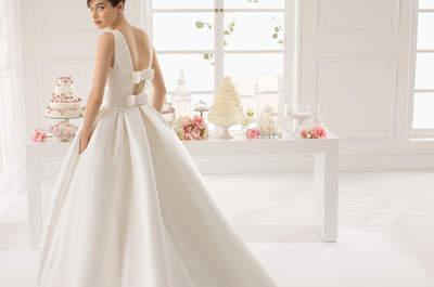 Schleifen für Brautkleider 2015 von San Patrick, Aire Barcelona und Rosa Clará