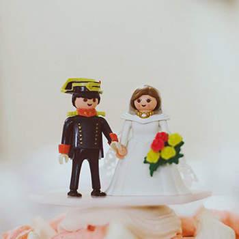 Cake topper per il tuo matrimonio nel 2016: una selezione dei più originali!