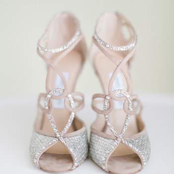 Luxus gefällig mit Brautschuhen von Jimmy Choo für Ihre Hochzeit 2016?