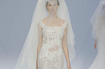 Vestidos de novia Cymbeline 2017: elegancia a la francesa