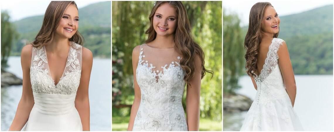 De bruidsjurken van de Sweetheart collectie voor het najaar 2016-2017