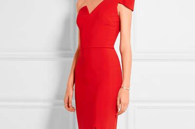 Vestidos de fiesta rojos 2017: un color vibrante y elegante