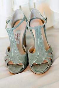 Chaussures de mariée colorées 2017